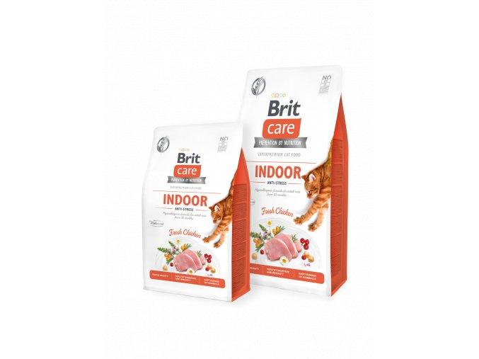 Brit Care Cat GF Indoor Anti-stress 2 kg