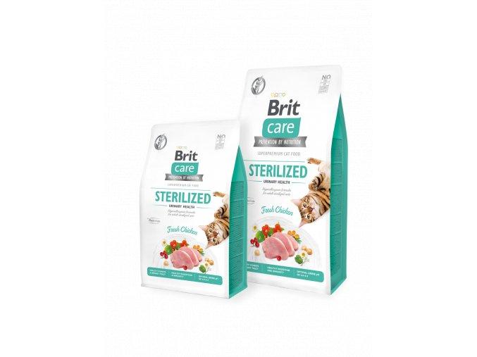 Brit Care Cat GF Sterilized Urinary Health 400 g