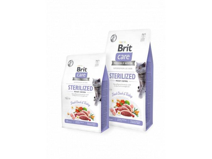 Brit Care Cat GF Sterilized Weight Control 7 kg