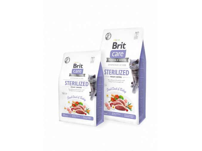 Brit Care Cat GF Sterilized Weight Control 2 kg