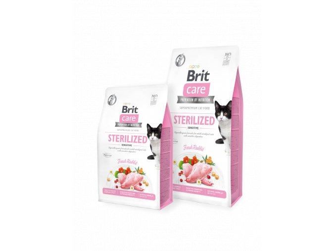 Brit Care Cat GF Sterilized Sensitive 7 kg