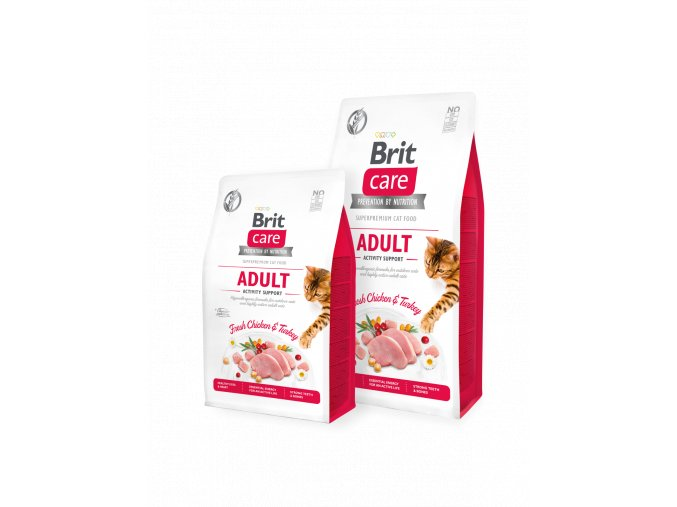 Brit Care Cat GF Adult Activity Support 400 g