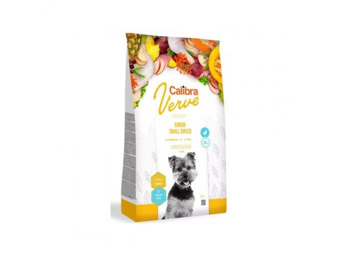 Calibra Dog Verve GF Junior Small Chicken & Duck 1,2kg
