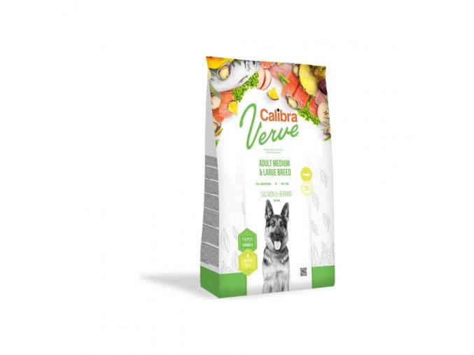 Calibra Dog Verve GF Adult M&L Salmon & Herring 12kg