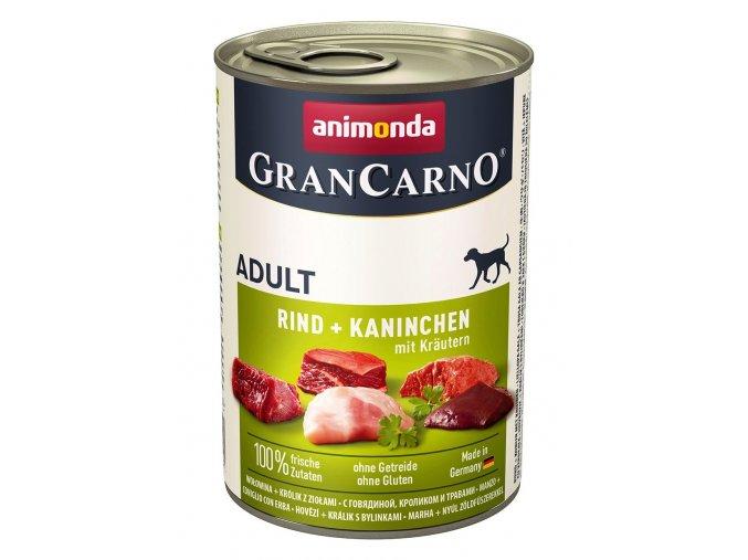 Animonda Gran Carno Adult králík & bylinky