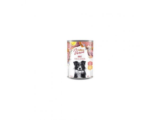 Calibra Dog Verve konz.GF Adult Pork&Venison 400g