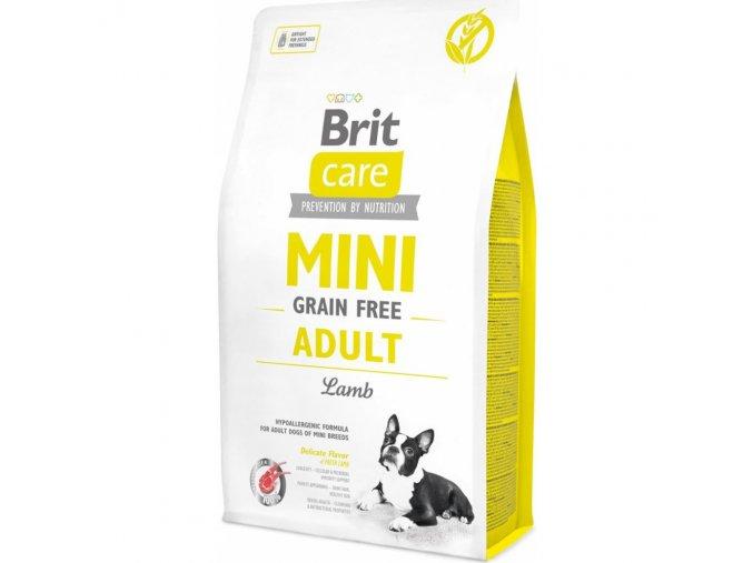 Brit Care Dog Mini Grain Free Adult Lamb 2kgmmf1000x1000
