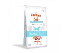 Calibra Dog Life Junior Medium Breed Chicken 12 kg