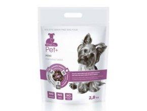 Krmivo Pet+ 3v1 pes MINI Adult 2,8 kg