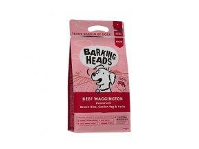 BARKING HEADS Beef Waggington 12kg  + BARKING HEADS kapsička 300g