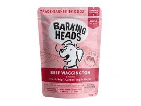 BARKING HEADS Beef Waggington kapsička 300g