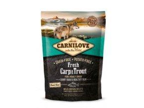 Carnilove Dog Fresh Carp & Trout for Adult 1,5kg