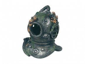 Karlie helma potápěče13 x 13 x 16,5 cm se vzduchovadlem akvarijní dekorace