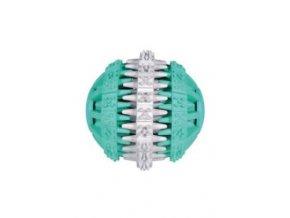 Dentafun Míč s mátou Zeleno/Bílý 7,5cm