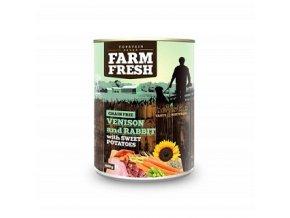 Farm Fresh Venison and Rabbit & Sweet Potato