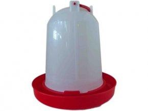 Plastová překlopná napaječka pro drůbež 6l
