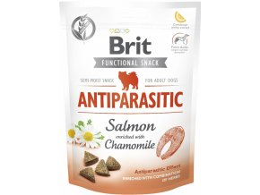 Brit Care Dog Functional Snack Antiparasitic Salmon 150g