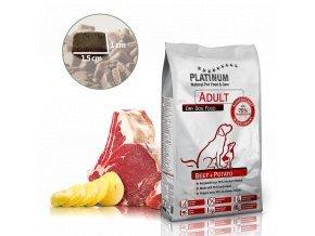 Platinum Natural Beef & Potato 1,5 kg
