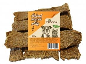 Natureca Masové pláty Husa 100% maso 100 g