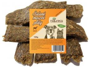 Natureca Masové pláty Jehně 100% maso 100 g