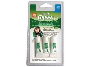 Sergeanťs Green spot on pro psy do 12 kg 3 x 1,5 ml