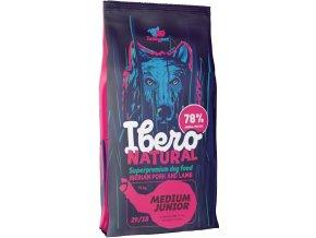 Ibero Natural dog Medium Junior 12 kg