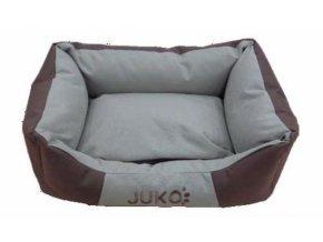 Pelíšek odolný JUKO XS:45x34x16cm-Hnědá