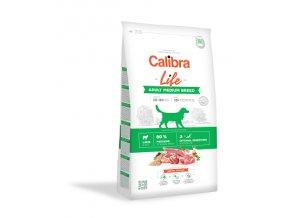 Calibra Dog Life Adult Medium Breed Lamb 12kg