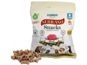 Serrano Snack for Dog Beef 100 g