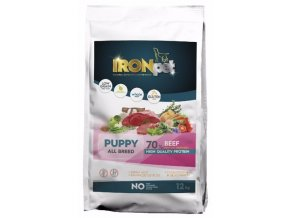 IRONpet Beef Puppy All Breed 12 kg