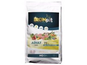 IRONpet TURKEY Mini Adult 12kg