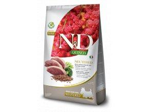 N&D Quinoa Dog Neutered Adult Mini Duck & Broccoli 2,5 kg