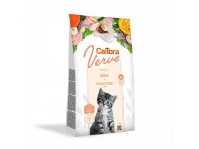 Calibra Cat Verve GF Kitten Chicken & Turkey 750 g