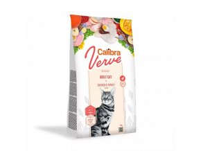 Calibra Cat Verve GF Adult Chicken & Turkey 750 g