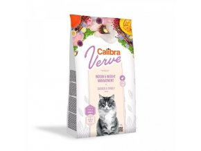 Calibra Cat Verve GF Indoor & Weight Chicken 750 g