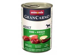 Animonda Gran Carno Adult jelen & jablko