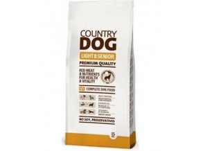 country dog senior