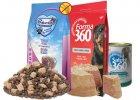 krmiva, pamlsky a vitamíny pro psy