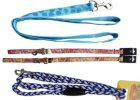 nylonové a textilní vodítko pro psa