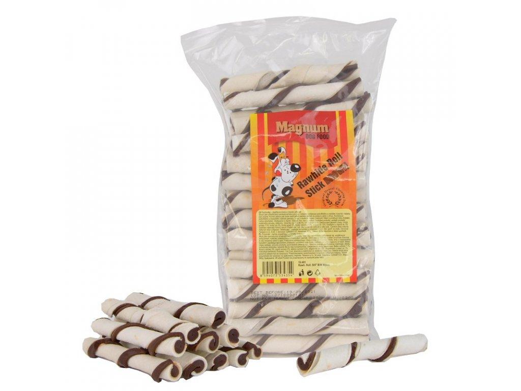 2112 magnum rawhide roll stick 5 12 5cm cca 40ks brown white