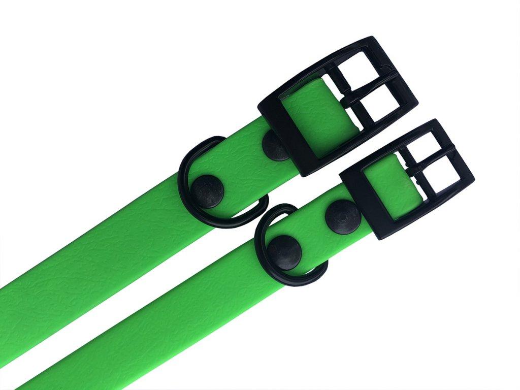 neon zeleny