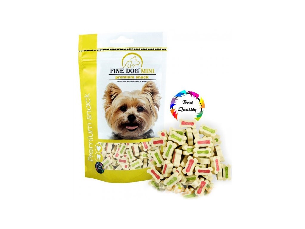 4482 fine dog mini kalciove kosticky 100g