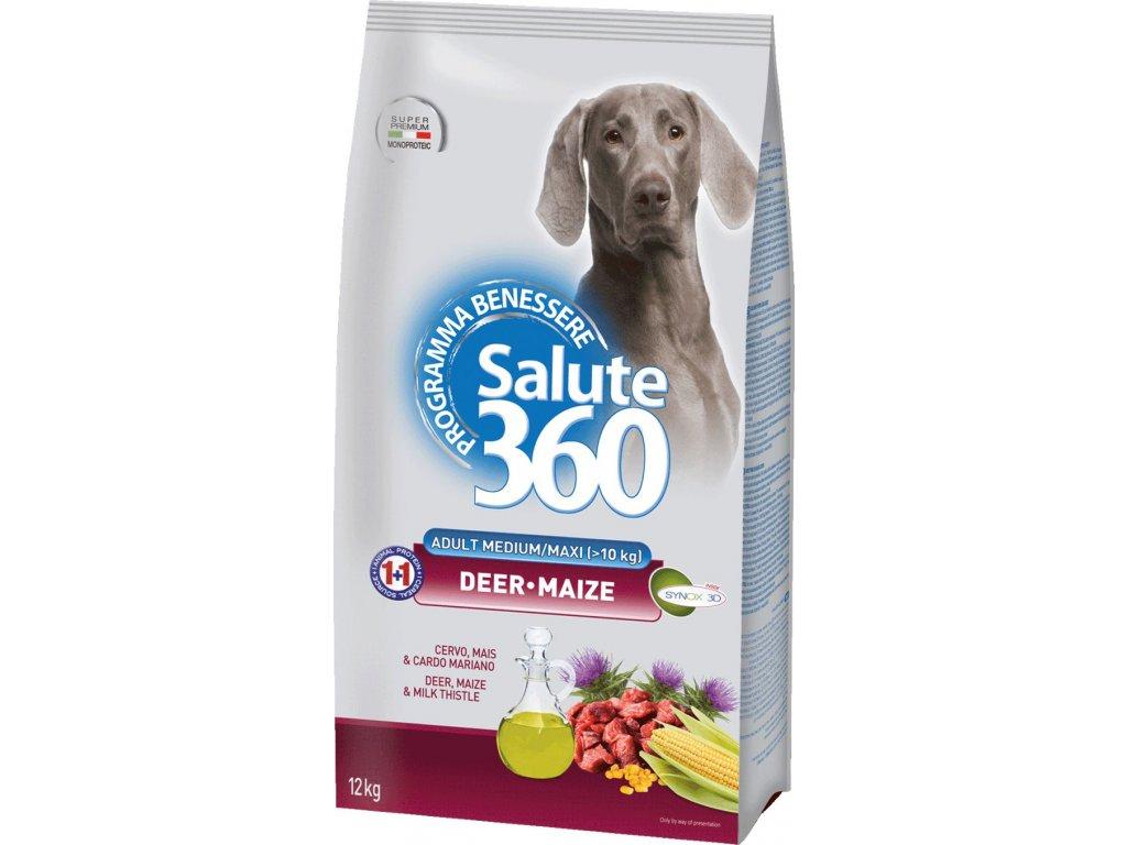 salute dog adult jelen kukurice med maxi 12kg