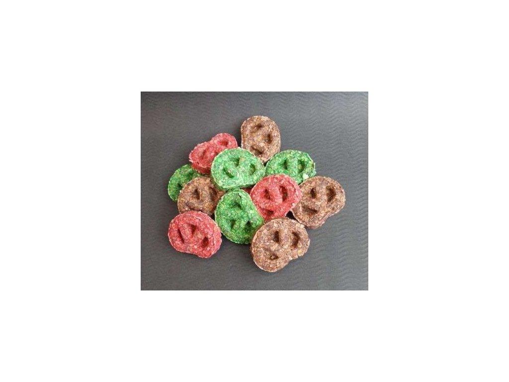 294 munchy preclik barevny 5 5cm cookie 50ks