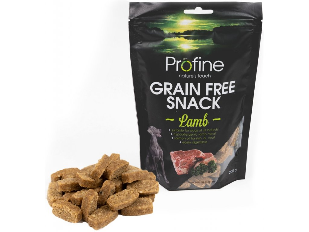3231 profine grain free snack lamb 200g