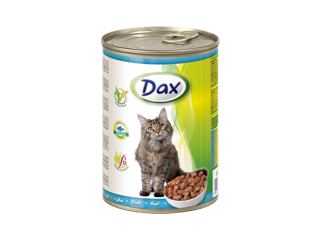 dax konzerva pro kocky 415g ryba