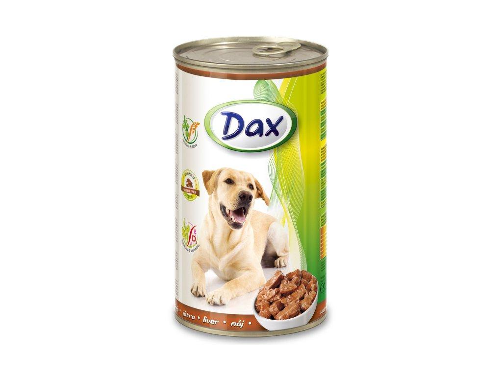 dax konzerva pro psy 1240g jatra