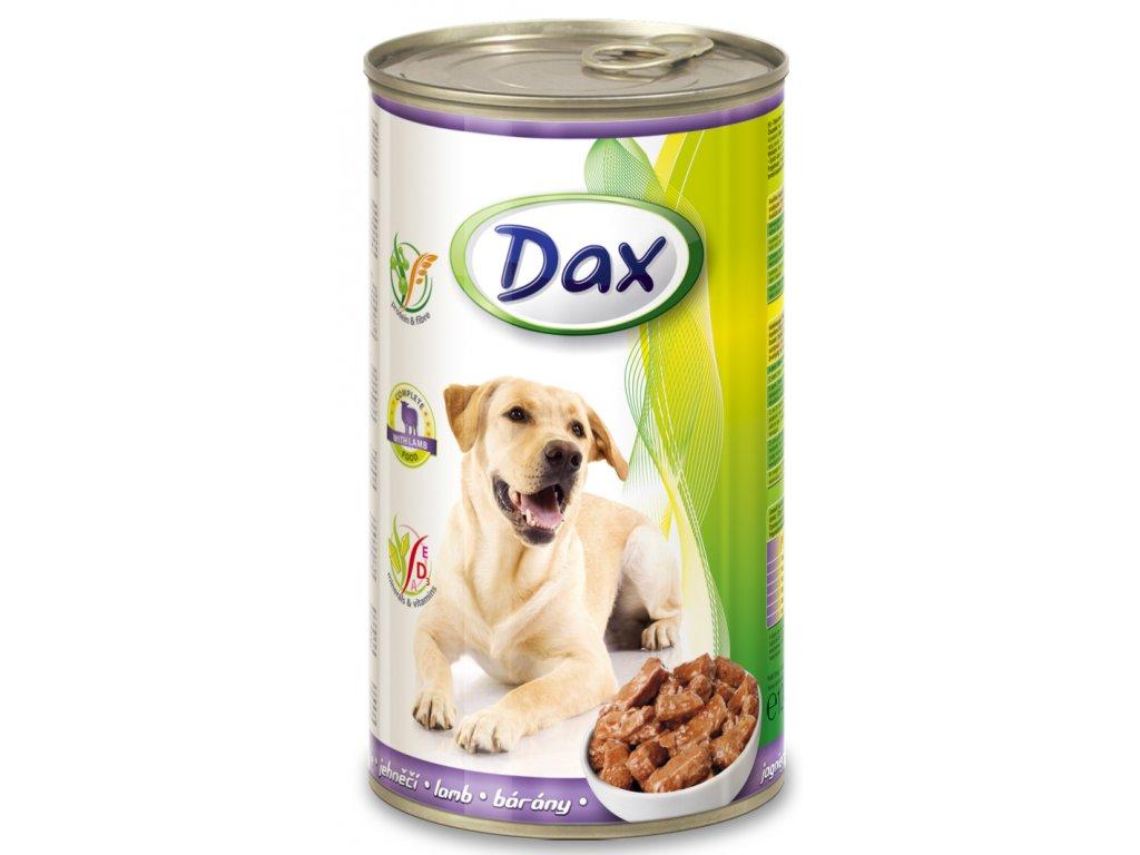 dax konzerva pro psy 1240g jehne