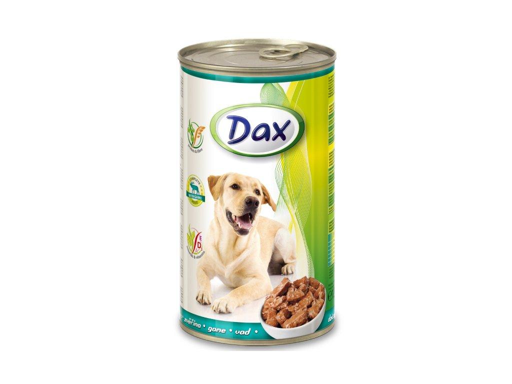 dax konzerva pro psy 1240g zverina