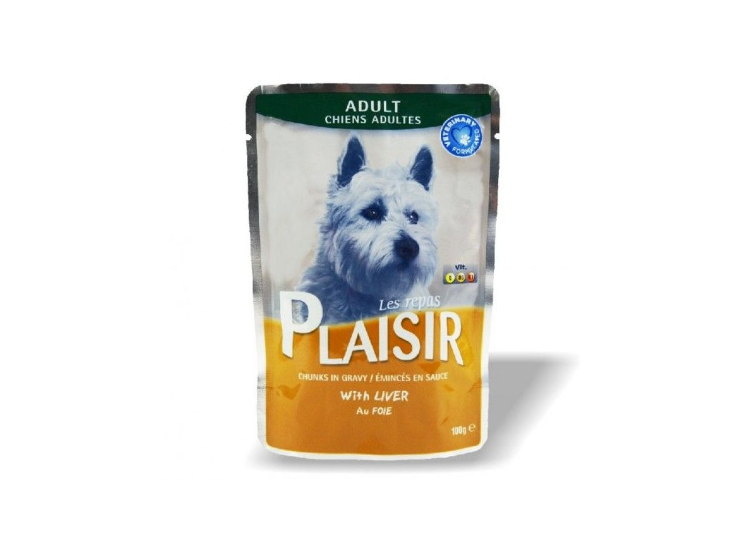 4758 plaisir dog kapsicka s jatry 100g